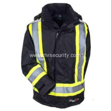 Men's  Flame Resistant Insulated Hooded Jacket