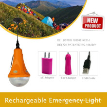 Camping lights for hiking;Portable LED Car emergency light; Home Lighting Kit by solar lights Factory