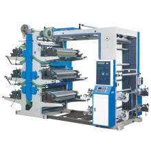 Máquina de impressão flexível de seis cores (CE) (YT-600-800, 1000)