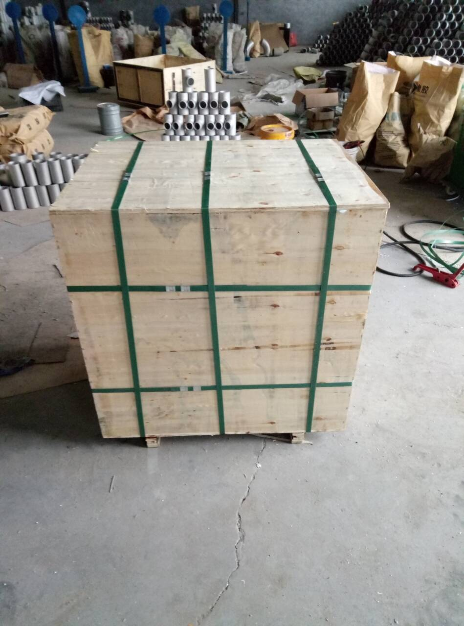 wooden case for asme b 16.5 flange