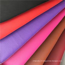 Tissu d'habillement en similicuir pour l'emballage de bracelets