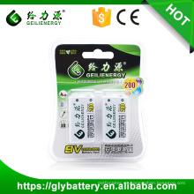 Geilienergy Fabricantes ni-mh Batería Recargable 6f22 9v 280mah