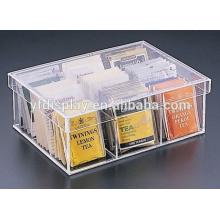 Maßgeschneiderte transparente klare Acryl Tea Packaging Box