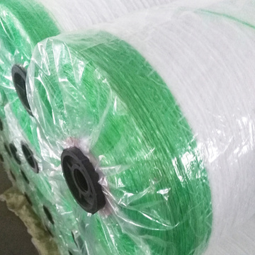 dengan strip peringatan bale wrap net roll