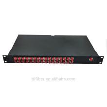 1x32 FC plc divisor de fibra de distribución de la caja