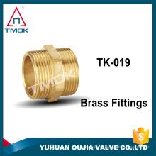 Os encaixes de tubulação de alta pressão forjaram a bucha de redução de bronze