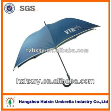 parapluie de golf 68 pouces windproof surdimensionnés lumière parapluie bleu