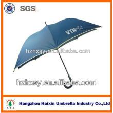 guarda-chuva do golfe 68 polegadas tamanho grande windproof guarda-chuva azul de luz