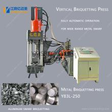 Automatic Aluminium Shavings Metal Briquetting Press Machine