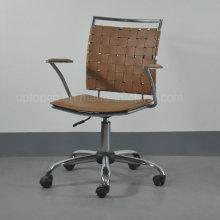 Горячая Распродажа современный Регулируемая Высота металл кожаные офисные кресла с колесами (СП-LC290)
