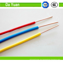 Kupferleiter PVC Armed Single-Core-Kabel
