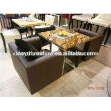 Modern PU leather Cofe sofa XDW1010
