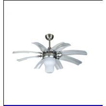 42 '' Ventilador de teto decorativo com luz bonita