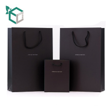 Logo Letter Print Mini Mas Günstige Handtasche Form Kraftpapier Geschenktüte