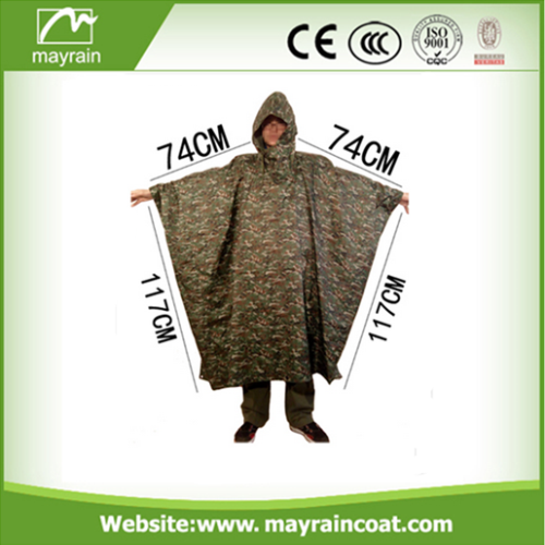 Raincoat Adult Printed