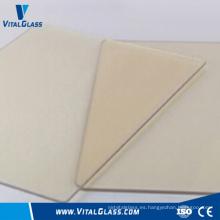 4-6mm claro de vidrio de cerámica para chimenea