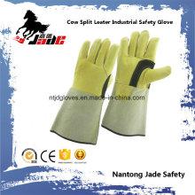 Genuine Cowhide Leather Industrial Safety Welding Work Glove