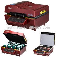 Máquina barata da impressora da sublimação do preço A3 3d, imprensa do calor da caneca, sublimação do tor da máquina
