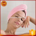 Venta caliente microfibra algodón mujeres turbante