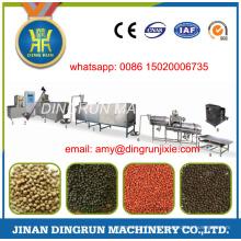 100 kg por hora máquina de alimentação de peixe
