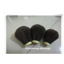 Small Size Synthetic Black Badger Shaving Brush Knot