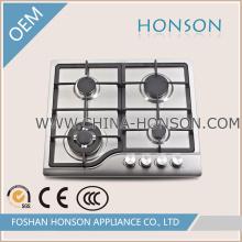 Boa qualidade 4 queimadores de aço inoxidável fogão a gás fogão a gás