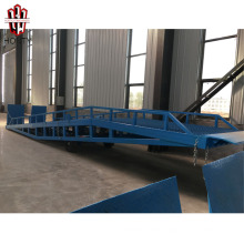 CE container hydraulic mobile loading ramp