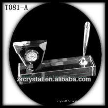 Wonderful K9 Crystal Clock T081-A