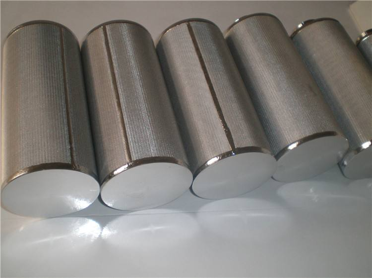 SS316L Ssintered 5-layer Mesh Filter