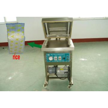 Rice Brick Shape Vaccum Packing Machine