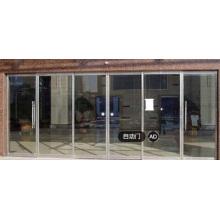 Раздвижной стеклянный дверной механизм с сенсорным управлением