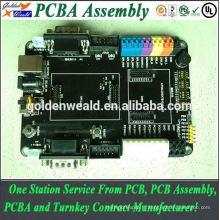 pcb / pcba Assemblée PCB Stratifié Assemblé avec Capteur 2oZ Cuivre Épaisseur voiture mp3 pcba
