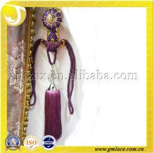 New Design Curtain Silk Decor Tieback Tassel