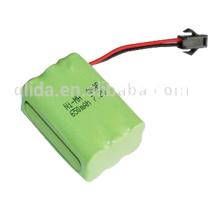 Batterie Ni-Mh Aaa 7.2V 650Mah OEM / ODM