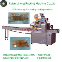 Gzb-350A Machine de conditionnement automatique de flux de gâteau à plateau-caisse haute vitesse Gzb-350A