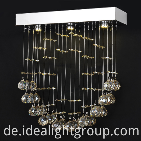 romantic led chandeliers