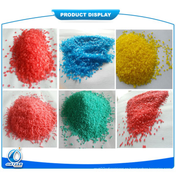 Manchas coloridas / manchas coloridas / manchas coloridas del sulfato de sodio / manchas coloreadas formadas