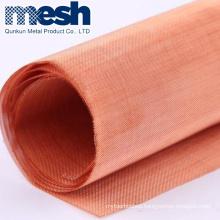 200 mesh faraday cage shielding red copper wire mesh