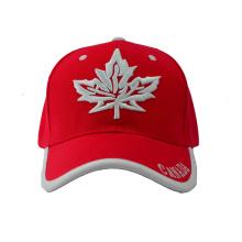 Boné de beisebol de seis painéis Canadá com Bill especial (GKA01-F00066)