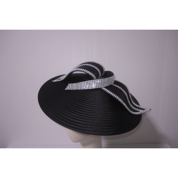 NEW-Women's Satin Church Fascinators Hüte --YJ89