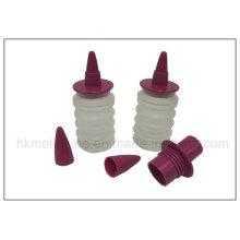 Bouteille de crème créée par des décors alimentaires en silicone (RS34)