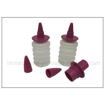 Silicone Food Decors set garrafa de creme (RS34)