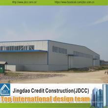 Structure en acier de construction de structure préfabriquée entrepôt en acier de structure