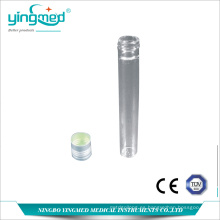 Tubo de ensayo de vidrio resistente al calor