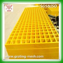 FRP/GRP Molded Grating, Fiberglass Grate for Platform and Walkway