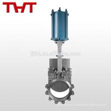válvulas de compuerta neumáticas de acero inoxidable