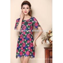 2016 heißes Verkaufsdamen reizvolles beiläufiges Kleid späteste Sommerkleider einteiliges Kleid