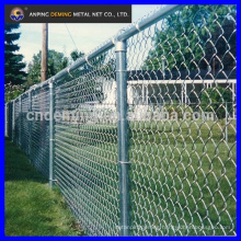 DM hot dipped galvanized chain link fence high ( professional factory)