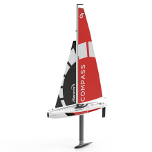 COMPASS 650mm competition remote control sailboats ABS body plastic rc sailboat RTR without battery