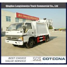 Caminhão de lixo novo do compressor do modelo 4cbm Rhd 4X2